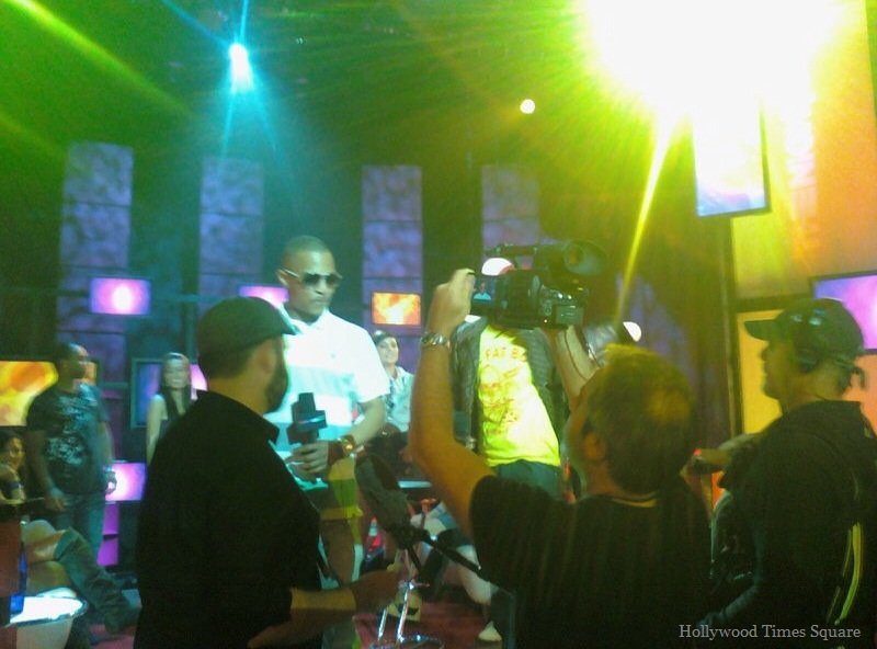 "T.I. filming ""The Nightlife"" (Photo by: Frances Vega)"