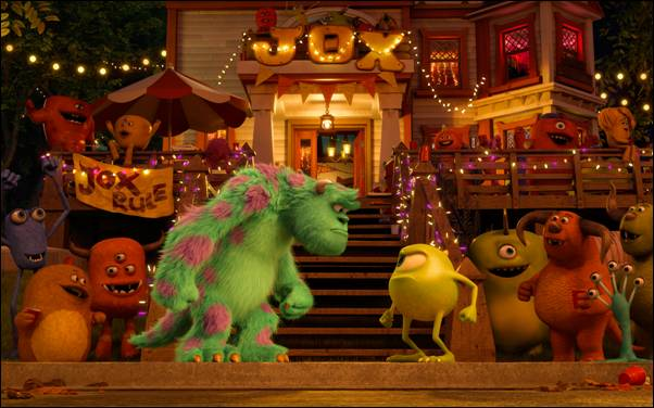 Monsters University movie still (courtesy of Disney/Pixar)
