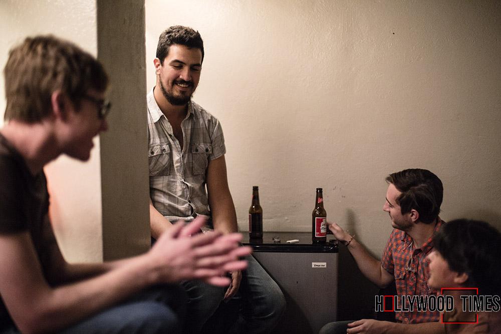 Leighton Antelman, Matt Keller, and Justin Camacho answering HTS' tough questions