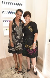 Tanya Heath-and- Pam Schmider-LA-Store Opening