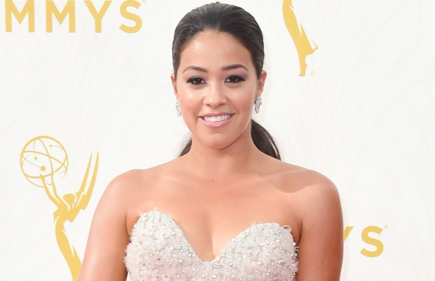 LOS ANGELES, CA - SEPTEMBER 20:  Actress Gina Rodriguez attends the 67th Annual Primetime Emmy Awards at Microsoft Theater on September 20, 2015 in Los Angeles, California.  (Photo by Frazer Harrison/Getty Images)