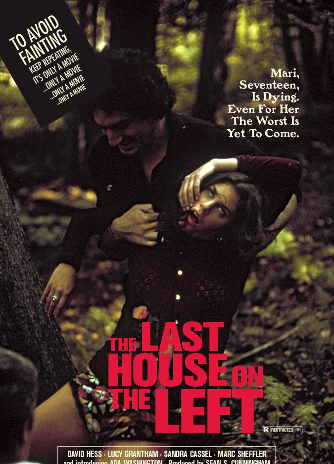 """The Last House on the Left"" movie poster"