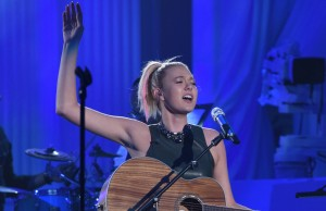 "AMERICAN IDOL: Contestant Olivia Rox in the ""Showcase #3: 2nd 12 Performances"" episode of AMERICAN IDOL airing Wednesday, Feb. 17 (8:00-9:01 PM ET/PT) on FOX. © 2016 FOX Broadcasting Co. Cr: Ray Mickshaw / FOX."