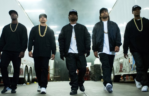 No Merchandising. Editorial Use Only. No Book Cover Usage  Mandatory Credit: Photo by Everett/REX Shutterstock (4973868d)  Straight Outta Compton, Aldis Hodge, Neil Brown Jr., Jason Mitchell, O'Shea Jackson Jr., Corey Hawkins  'Straight Outta Compton' Film  - 2015