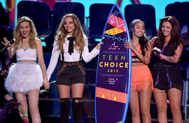 Perrie-Edwards-Jade-Thirlwall-Leigh-Anne-Pinnock-and-Jesy-Nelson-of-Little-Mix-accept-the-Choice-Music-Group-Female