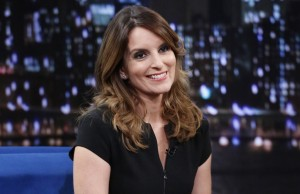 LATE NIGHT WITH JIMMY FALLON -- Episode 899 -- Pictured: Tina Fey on September 26, 2013-- (Photo by: Lloyd Bishop/NBC/NBCU Photo Bank via Getty Images)